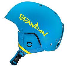 2x adesivi nome personalizzato per bicicletta BMX Snowboard Casco Da Sci Arrampicata