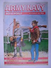 ARMY AND NAVY MODELWORLD - Nov 1987 - Military Modeller Magazine & Modelling