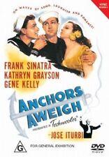 ANCHORS AWEIGH DVD=FRANK SINATRA-GENE KELLY=REGION 4 AUSTRALIAN= NEW and SEALED
