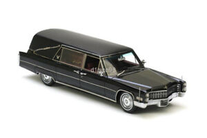 Neo scale models NEO43896 1/43 CADILLAC S&S Hearse     1966