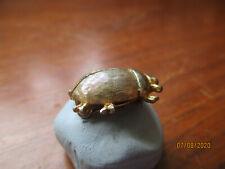 edwardian hallmarked silver  beetle brooch