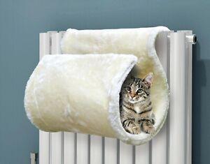 CAT KITTEN HANGING RADIATOR PET DOG BED WARM FLEECE BASKET CRADLE HAMMOCK PLUSH