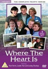 Where The Heart Is - Series 4 - Complete (DVD, 4-Disc Set) . FREE UK P+P .......