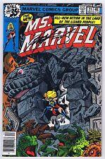 Ms. Marvel #21 Signed w/COA by Chris Claremont VFNM 1978 Marvel Comics