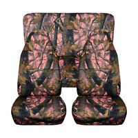 Universal Camouflage Car Seat Cover Full Sets protect Mat For Jeep Picku