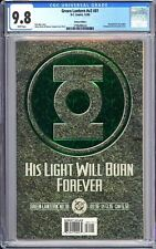 Green Lantern v3 #81 CGC 9.8 WP 1996 3798498024 Deluxe Embossed Emerald Prism!