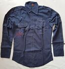 Funky Energie designer shirt, Italy, Energie Red Arrow, Trendy Blue, Chic Lines