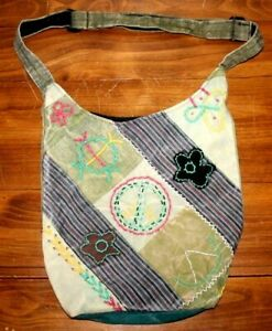 Hippie   satchel    Knap  sack    PEACE Patch bag   Peace        NEPAL