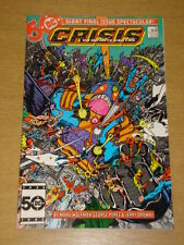 CRISIS ON INFINITE EARTHS #12 DC COMICS DS MANY DC DEATHS MARCH 1986 X