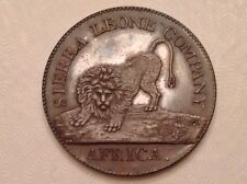 - 1791 One Cent Proof Sierra Leone Colony George III -only 400 minted