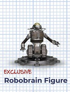 "FALLOUT ""ROBOBRAIN"" Robot FIGURE ""Plan"" LootCrate Exclusive"