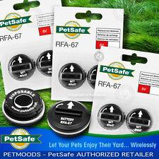 PetSafe RFA-67D-11 Batteries Wireless Fence PIF-275-19 Dog Collar PUL-275 Qty 6