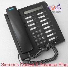 Sistema telefonico telefono Siemens Optiset E Advance Plus Black s30817-s7006-a108-2