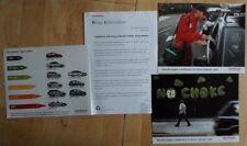 Honda voiture pollution no starter orig uk 2006 marketing communiqué de presse + 3 photos-brochure