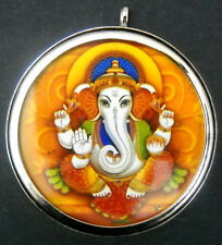 .925 Elephant God Ganesha Hindu God Pendant Tribal Banjara
