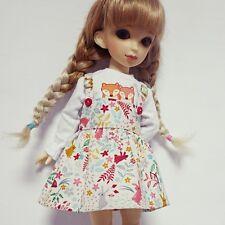 bjd yosd 1/6 doll clothes, Skirt suspender rabbit