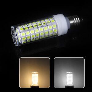 E11 LED bulb 9W 110V 102Led Ceramics Ceiling Fans Lights White/Soft White Lamp N