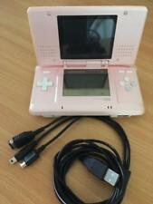 Pink Nintendo DS Lite Console and USB Charger