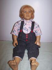 "Annette Himstedt Kasimir Doll, 1988 World Child Collection HTF  30"""