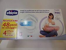 CHICCO COPPETTE ASSORBILATTE ANTIBATTERICHE 120pz