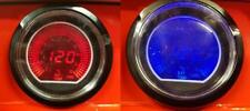 60 mm Evo Car Exhaust Gas Temperature Gauge Red and Blue LCD Digital Display