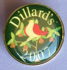 Dillards 2007 Department Store Advertising Pin Badge Bird Song Rare Vintage (F6)
