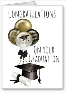 Congratulations On Your Graduation Card cap Scroll All Cards 3 for 2