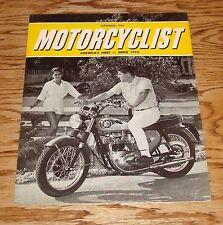 Original 1965 BSA Motorcycle Sales Brochure 65 Motorcyclist