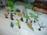 BRITAIN TREE ,TIMPO OTHERS TREES,ROCK ELSE DEAL  LOT -L@@K!!!!!!!!!!!!!!!