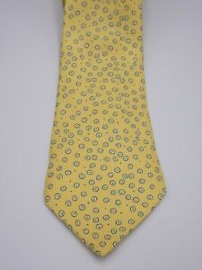 HERMES SILK TIE MADE IN FRANCE