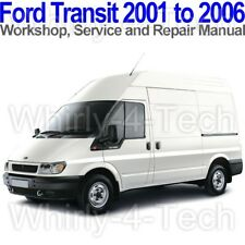 Ford Transit 2001 to 2006 Workshop, Service and Repair Manual on CD