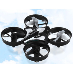 JJRC H36 Mini RC Drone 2.4G 4CH 6 Assi Headless Telecomando Quadcopter GRIGIO