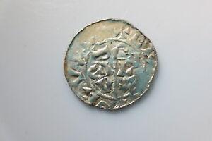 Netherlands 11 century silver denar, Utrecht, b.Wilhelm (1054-1076). Dbg.545