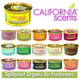 100% Original California Scents Spillproof Organic Car Air Freshener Home Scent