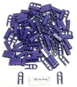100 K'NEX Purple Clips Single Position End Connector Parts Pieces Standard KNEX