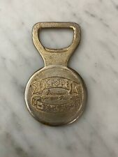 VINTAGE GOLD TONE METAL GERMAN BEER BOTTLE OPENER--Kropf Edel Pils