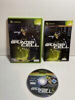 Tom Clancy's Splinter Cell (Microsoft Xbox, 2002)game