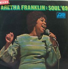 ARETHA FRANKLIN Soul '69 LP - Original Green Mono Atlantic