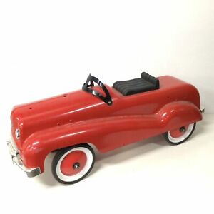 Kids Stuff Red Metal Vintage Style Ride On Car For Parts #452