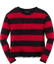 Ralph Lauren Girls' Striped Long Sleeve Sleeve T-Shirts & Tops (2-16 Years)