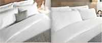 Luxury Hotel Quality Egyptian Cotton Bed Sheet White Single, double, King