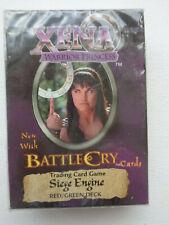 Xena Warrior Princess  Siege Engine  Trading Card Game   (Sealed New)