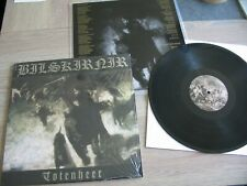 BILSKIRNIR Totenheer BLACK LP VINYL Graveland Goatmoon Kristallnacht Nargaroth