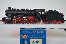 Roco HO 4112 Dampf Lok BR 58 2059 DB (CD/311-59S8/1)