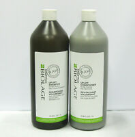 Biolage RAW Uplift Shampoo & Conditioner 33.8 oz Liter Set Duo PACK Matrix