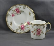 Royal Crown Derby Royal Pinxton Roses Demitasse Cup & Saucer (S)