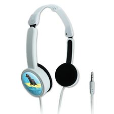 Looking For Next Big Break Surfing Dogs Portable Foldable On-Ear Headphones
