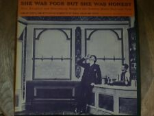 FOLK LP: 'SHE WAS POOR BUT SHE WAS HONEST' FW 8707 Lamb