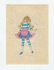 figurina - BARBIE 1989 PANINI - LETTERA P