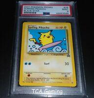 PSA 9 MINT Surfing Pikachu # 28 WOTC Black Star Promo Pokemon Card
